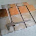 Переходные пластины медно-алюминиевые МА