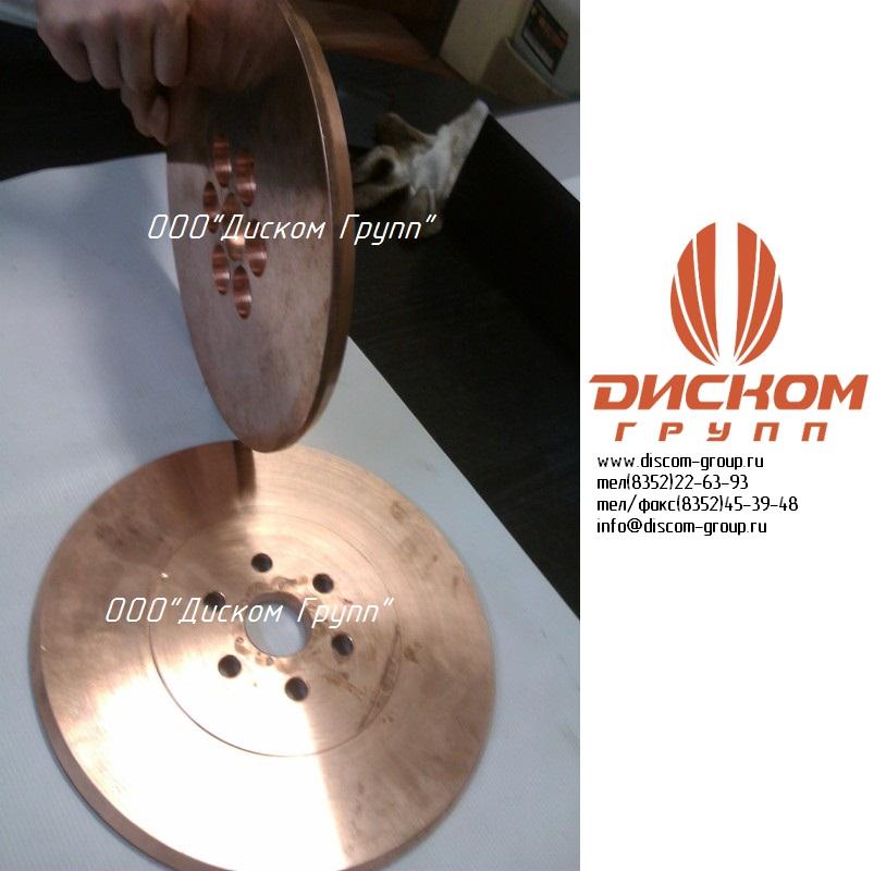 Роликовый электрод шовной сварки 8